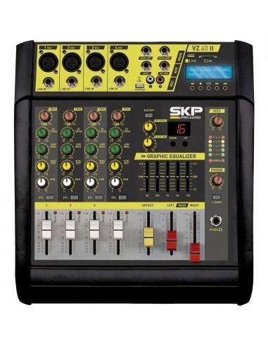 Consola Potenciada Mixer SKP VZ-40 LI...