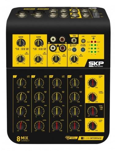 Mixer Mezcladora Sonido SKP...
