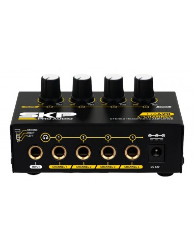 Amplificador Auriculares SKP HA-420 4...