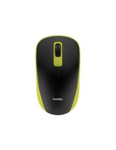 Mouse Inalámbrico Usb Optico Targa Tg-m70w Amarillo 1200dpi 10mt