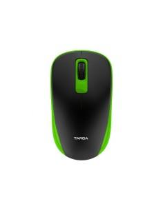 Mouse Inalámbrico Usb Optico Targa Tg-m70w Verde 1200dpi 10mt