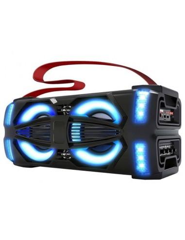 "Parlante Bluetooth Portátil Novik Light X Mp3 Woofers 2x5"" 300W"