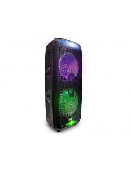 """Bafle Bluetooth Portátil Novik X Blast Mic. Wireless 2x8"""" Extra Bass Batería"""