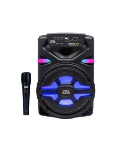 Bafle Portátil Pro Bass Wave-15 Bluetooth Batería 700w Micrófono Luz LED