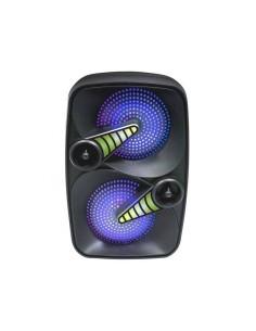 Bafle Portátil Pro Bass Smash Bluetooth Mp3 2000w Micrófono Karaoke