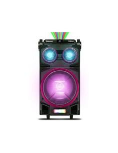 "Bafle Portátil Novik Titan 10"" + tweeters 500W Bluetooth Micrófono Luces Bateria"