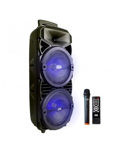 """Bafle Portátil Probass Wave-208 2x8"""" 800W Bluetooth Batería"""
