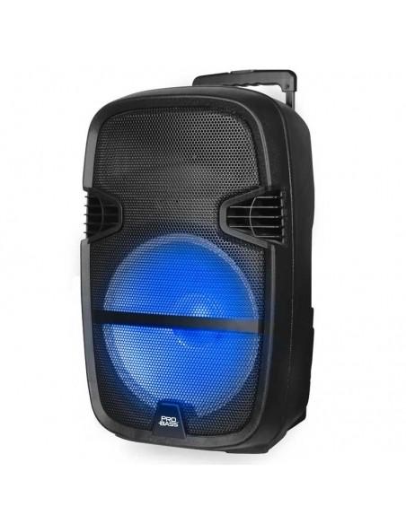 Bafle Portátil Probass Street 15 Bluetooth Mic 1000W Bateria