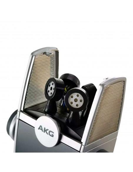 Micrófono Condenser AKG C44-USB multimodo Ultra-HD.