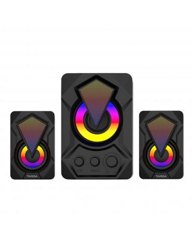Parlantes Gamer Usb Targa Diamond Pro 8w USB 2.1 Led